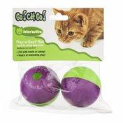 Go! Cat Go! Play-n-Treat Catnip Dispenser Balls - 2 CT