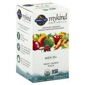 Garden of Life Multivitamin, Men 55+, Vegan Tablets