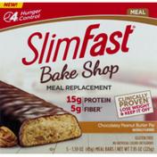 SlimFast Bake Shop Meal Bars Chocolatey Peanut Butter Pie