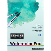 Sargent Art Watercolor Pad, 25 Sheets