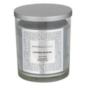 Aromascape Fragranced Candle with Natural Essential Oils Lakeside Bonfire