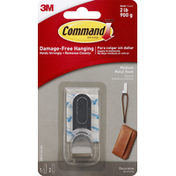 3M Command Hook, Metal, Medium