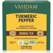 Vahdam India Turmeric Pepper Herbal Tea
