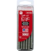 Senco Wire Staples, Medium, 18 Gauge, Galvanized