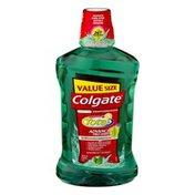 Colgate Total Antiplaque Mouthwash Advanced Pro-Shield Value Size Spearmint Surge