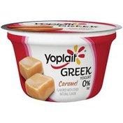 Yoplait Greek Caramel Fat Free Yogurt