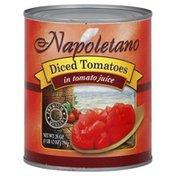 Napoletano Tomatoes, Diced, in Tomato Juice