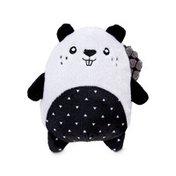 "6"" Seasonal Black & White Beaver Plush"
