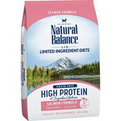Natural Balance Grain Free High Protein Salmon Formula Complete & Balanced For Adult Cats