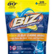 BIZ Stain & Odor Eliminator, Liquid Booster