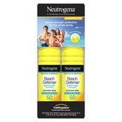 Neutrogena® Beach Defense Water Sun Protection Sunscreen Broad Spectrum SPF 50
