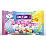 Brach's Cherry, Orange, Lemon, Lime, Blue Raspberry, Grape Flavored Rainbow Sparkle Jelly Bird Eggs Candy