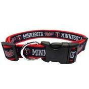 Pets First Medium Minnesota Twins Dog Collar