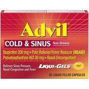 Advil Cold & Sinus Pain Reliever/Fever Reducer Liqui-Gels Capsules