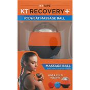 KT Recovery+ Massage Ball, Ice/Heat