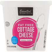 Essential Everyday Cottage Cheese, Small Curd, Fat Free