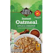 First Street Oatmeal, Instant, Apple & Cinnamon