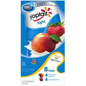 Yoplait Light Harvest Peach/Strawberry Variety Pack Fat Free Yogurt