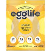 Egglife Foods Egg White Wraps, Original