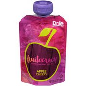 Dole Fruitocracy Apple Cherry Squeezable Fruit Pouch