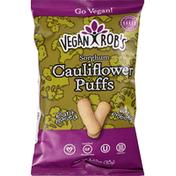 Vegan Rob's Sorghum Puffs, Cauliflower
