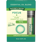 Nature's Truth Essential Oil Blend, Focus, On the Go Roll-On