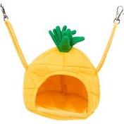 "Multipet Medium Yellow Pineapple House Small Animal Hideaway 5.5"" L X 5.5"" W X 6"" H"