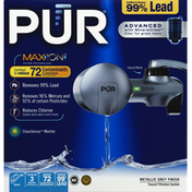 Pur Faucet Filtration System, Metallic Grey Finish