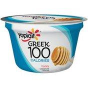 Yoplait Greek 100 Calories Honey Fat Free Yogurt