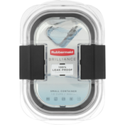 Rubbermaid Brilliance Small Container Leak-Proof