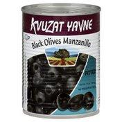 Kvuzat Yavne Olives, Black, Manzanillo, Pitted