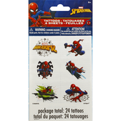 Unique Tattoos, Marvel Spider-Man, 4 Sheets