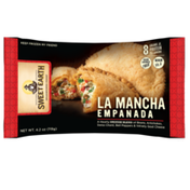 Sweet Earth LA MANCHA A Hearty SPANISH BLEND of Beans, Artichokes, Swiss Chard, Bell Peppers & Velvety Goat Cheese EMPANADA