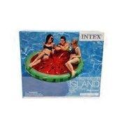 Intex Recreation Inflatable Watermelon Island Float Lounge