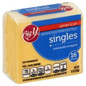 Big Y American Pasteurized Prepared Cheese Product Singles