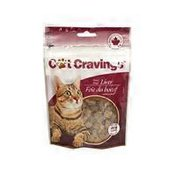Freeze Dried Beef Liver Cat Treats