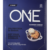 One Protein Bar, Blueberry Cobbler, Flavored
