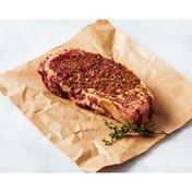Choice Beef Seasoned Boneless Top Loin New York Strip Roast