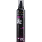 L'Oreal Advanced Hairstyle Curve It Curl Elastic Mousse Strong Hold