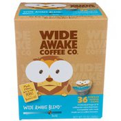 Wide Awake Bold Roast Wide Awake Blend 100% Arabica Coffee Single Serve Cups
