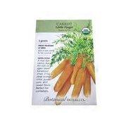 Botanical Interests Organic Baby Little Finger Carrot Seeds