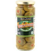 Best Choice Pl Spanish St Queen Olives with Minced Pimientos