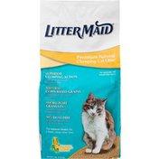 Litter Maid Premium Natural Clumping Cat Litter Natural Corn