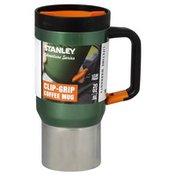 Stanley Coffee Mug, Clip-Grip, 20 Oz