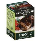 Spicely Organics Steakhouse Rub, Organic, Box