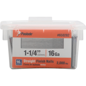 Paslode Finish Nails, Straight,1-1/4 Inch