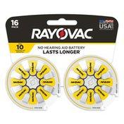 Rayovac Size 10 Batteries, Size 10 Batteries