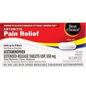 Best Choice Extended Release Arthritis Pain Relief Tablets