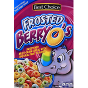 Best Choice Cereal, Frosted Berry O's