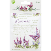 Fresh Scents Scented Sachets, Lavender, 3 Pack